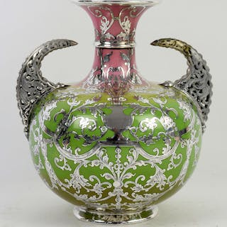 A late 19th/early 20th century Willets American porcelain...