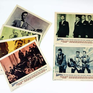 Jamboree (1957) 7 US Lobby Cards for the 50's pop music...