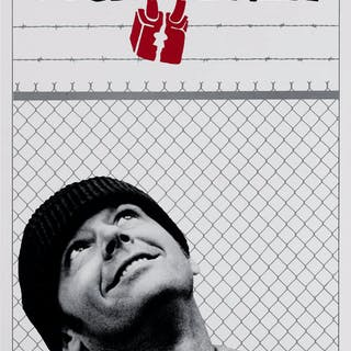 One Flew Over The Cuckoos Nest (1975) US Insert film poster