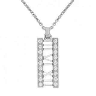 Tiffany & Co Italy Atlas Diamond Pendant