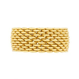 Tiffany & Co 18 Carat Yellow Gold Somerset Ring