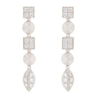 Bvlgari Lucae Diamond Drop Earrings