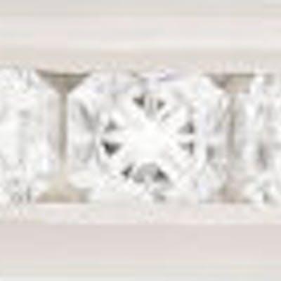 Tiffany & Co Lucida Cut Diamond Half Eternity Ring