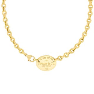 Tiffany & Co 'Please Return To Tiffany' Tag Necklace