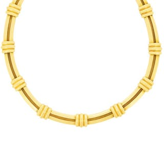 Tiffany & Co Yellow Gold Atlas Necklace, c.1990s