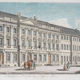Andreas Ludwig Krüger - Nordseite des Seidelschen Hauses am Bassinplatz