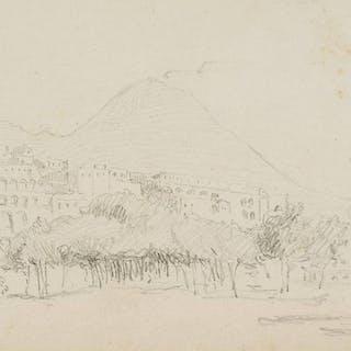 Leo Primavesi - Neapel mit Blick zum Vesuv