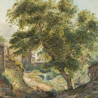 Jakob Friedrich Peipers - Italienische Idylle
