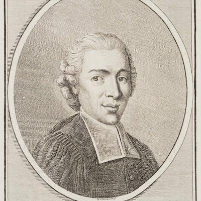 Daniel Nikolaus Chodowiecki - Porträt des Leipziger Predigers J. G. Zollikofer