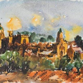 Christian Kruck - Italienische Landschaft