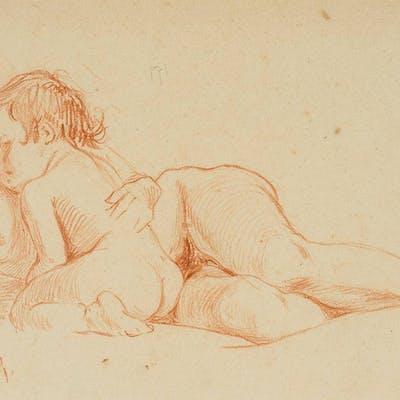 Leo Primavesi - Mutter, ihr Kind umarmend