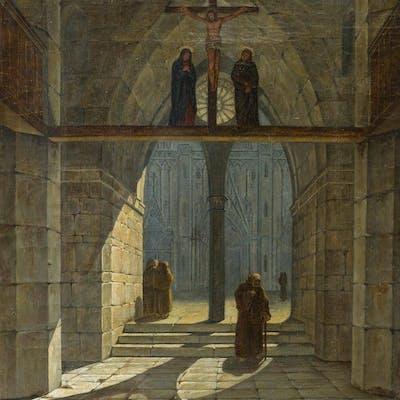 Karl Friedrich Hampe - Kirchenausgang