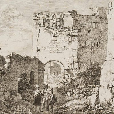 Johann Christoph Erhard - In den Ruinen von Stahremberg