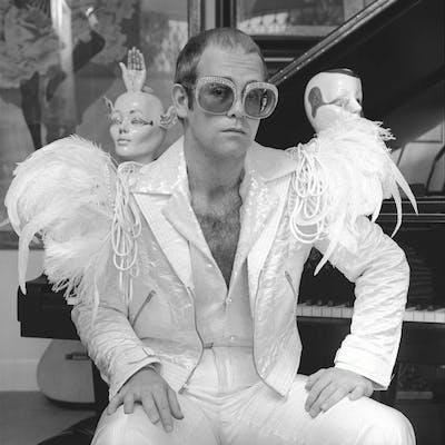 """Terry O'Neill - Elton John (24"""" x 20"""")"""