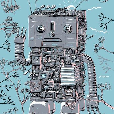 Lars Aurtande - Larrys Botaniske studier / robot