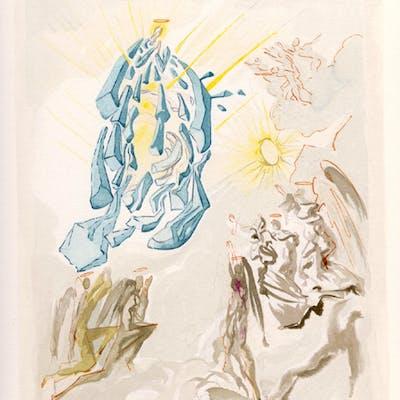 Salvador Dali - Paradise - Dante Recovers His Sight