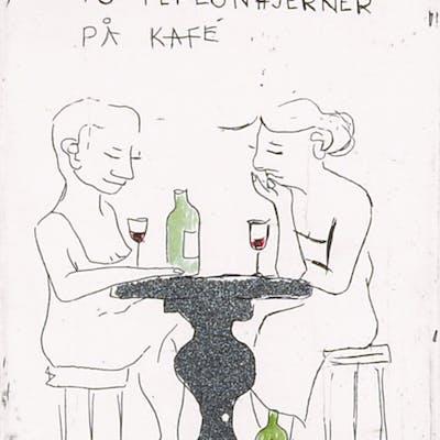 Anja Cecilie Solvik - To teflonhjerner på kafe