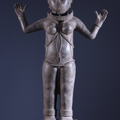 Statue royale Benin Bini Edo (N° 10178)