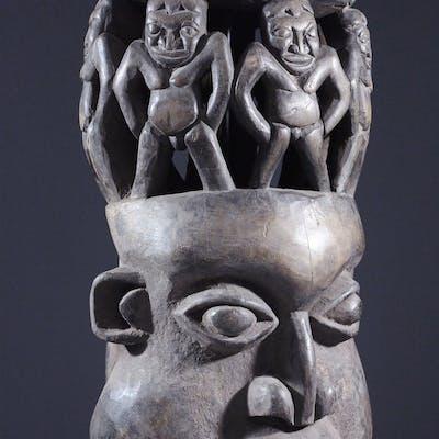 Masque de dignitaire Bamoun (N° 11011)