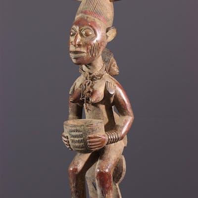 Maternité porteuse de coupe Yoruba (N° 11772)