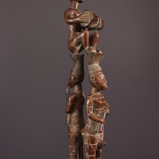 Trio de musiciens Mangbetu (N° 12479)