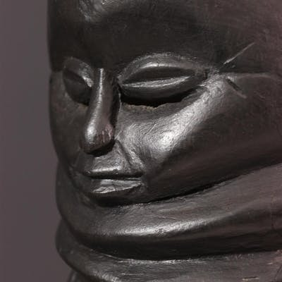 Masque Mendé Bundu, Sowei (N° 12575)