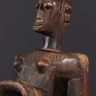 Coupe figurative Gbene, Koro (N° 12638)