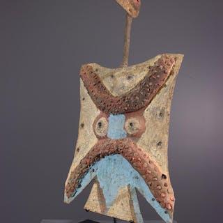 Masque Toussian Mpie en fer (N° 13063)
