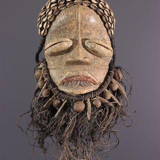 Masque Guéré Blé gla (N° 13078)