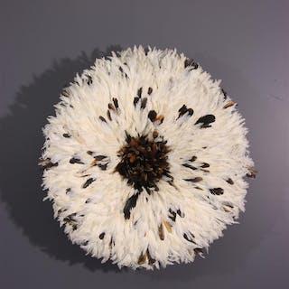 "Coiffe chapeau ""Juju"" Bamileke / Juju Hat (N° 13265)"