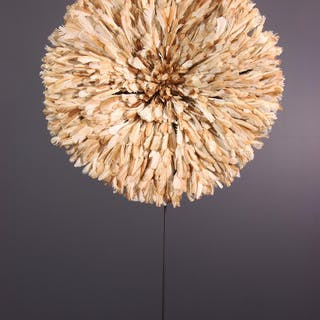 Chapeau Juju Bamileke / Juju Hat (N° 13395)