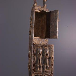 Boîte à pharmacopée Dogon (N° 13572)