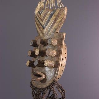Masque facial Grebo Krou, Kru (N° 13626)
