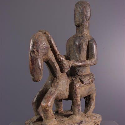 Statuette de cavalier Dogon (N° 13757)