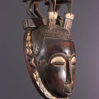Masque Yohouré, Yaoure (N° 13885)