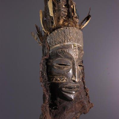 Masque Tschokwe Pwo / Lwena (N° 13890)