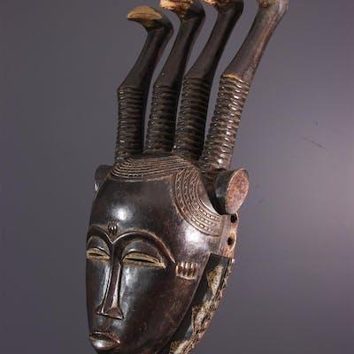Masque facial Lomane Yahouré, Yaoure (N° 13903)