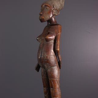 Figure féminine Mangbetu Beli (N° 14111)