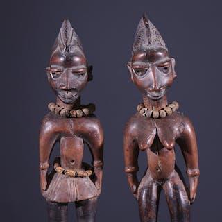 Couple de jumeaux Ibedji (N° 7972)
