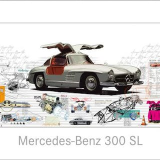 Mercedes-Benz 300 SL – unlimited