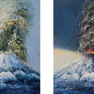 Twins – The Volcanos , 2008 - Uwe Hand