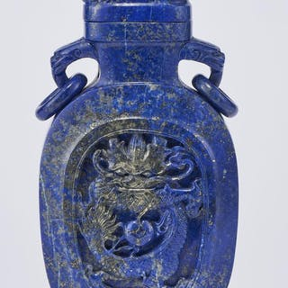 Vase couvert, Chine, dynastie Qing (1644-1912)