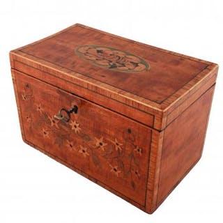 18th Century Sheraton Tea Caddy