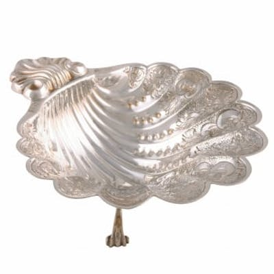 Sterling Silver Shell Dish