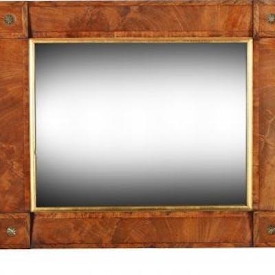 George IV Mahogany & Rosewood Mirror