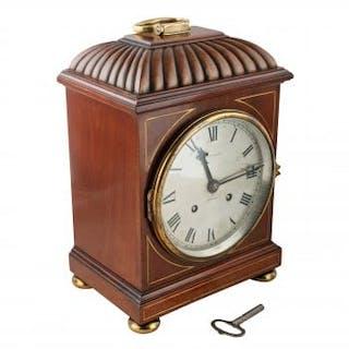 Regency Style Mahogany Bracket Clock