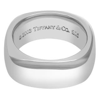 6099dca92 Tiffany & Co. silver ring size 6 – Current sales – Barnebys.com