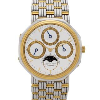 Audemars Piguet Perpetual Calendar B 71074 18k White Gold & 18k Yellow Gold