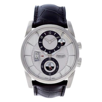 Parmigiani Fleurier Tonda PFC2311002400HA1241 18k Wg, Silver dial 42mm Auto