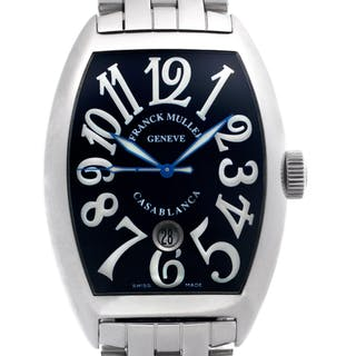 Franck Muller Casablanca 8880 C DT Stainless Steel Black dial 39mm